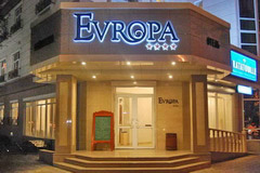 Гостиница Европа, Бишкек